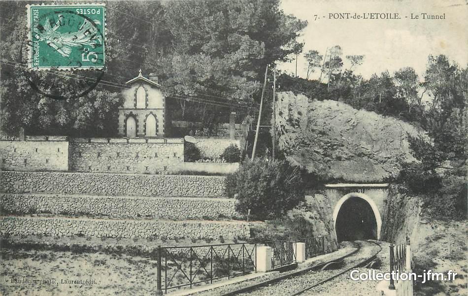Cpa france 13 pont de l 39 etoile le tunnel 13 bouches for Garage pont de l etoile