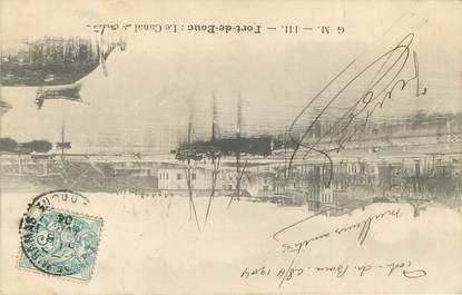 """/ CPA FRANCE 13 """"Port de Bouc, e Canal"""""""