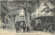 """13 Bouch Du Rhone / CPA FRANCE 13 """"Pelissanne, avenue Cabardel et grands cafés"""""""