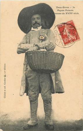 """CPA FRANCE 79 """"Paysan poitevin, costume"""""""