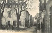 """13 Bouch Du Rhone / CPA FRANCE 13 """"Pelissanne, place et rue Saint Roch"""""""