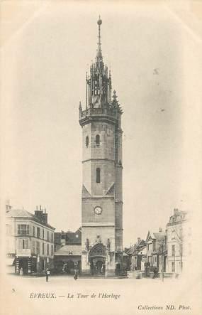 """/ CPA FRANCE 27 """"Evreux, la tour de l'horloge """""""