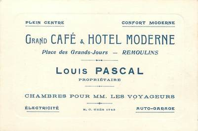 """/ CPSM FRANCE 30 """"Remoulins, hôtel moderne """""""