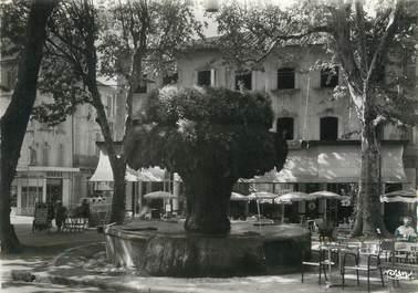 """/ CPSM FRANCE 13 """"Salon, la Fontaine Moussue """""""