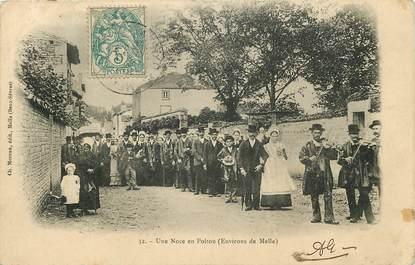 """CPA FRANCE 79 """"Une noce en Poitou, env. de Melle"""""""