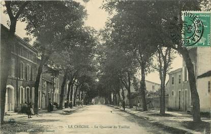 """CPA FRANCE 79 """"La Crèche, le quartier du Treillot"""""""