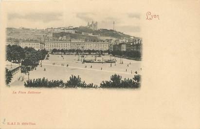 "/ CPA FRANCE 69 ""Lyon, la place Bellecour"""