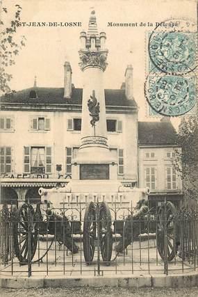 """CPA FRANCE 21 """"Saint Jean de Losne, monument de la Défense"""""""
