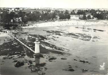 """/ CPSM FRANCE 44 """"Saint Nazaire, plages de Villes Martin et le phare"""""""