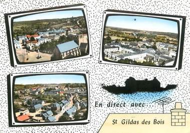 """/ CPSM FRANCE 44 """"Saint Gildas des Bois"""""""