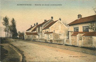 """CPA FRANCE 77 """"Aubepierre"""""""