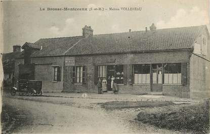 """CPA FRANCE 77 """"La Brosse Montceaux, Maison Vollereau"""""""