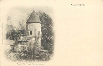 """/ CPA FRANCE 55 """"Vaucouleurs, vieille tour des fortifications"""""""