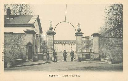 "/ CPA FRANCE 27 ""Vernon, quartier Avenay"""