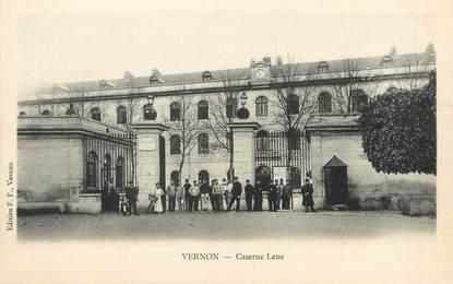 "/ CPA FRANCE 27 ""Vernon, caserne Lens"""