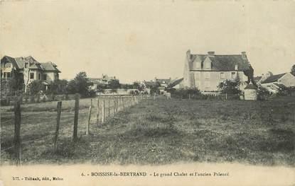 """CPA FRANCE 77 """"Boissise la Bertrand, le grand chalet et l'ancien prieuré"""""""