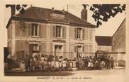 "77 Seine Et Marne CPA FRANCE 77 ""Bannost, Ecole et mairie"""