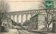 """13 Bouch Du Rhone / CPA FRANCE 13 """"Roquefavour, la gare et l'Aqueduc"""""""