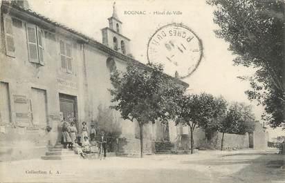 """/ CPA FRANCE 13 """"Rognac, hôtel de ville"""""""