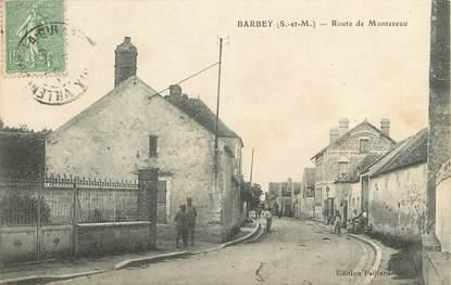 """CPA FRANCE 77 """"Barbey, rte de Montereau"""""""
