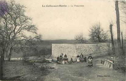 """CPA FRANCE 77 """"La Celle sur Morin, la Pisserotte"""""""