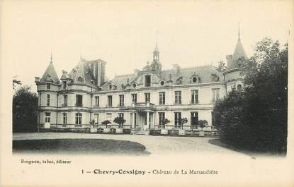 """CPA FRANCE 77 """"Chevry Cossigny, chateau de la Marsaudière"""""""