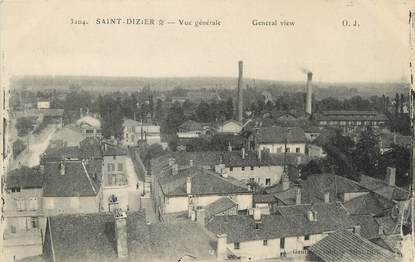 """/ CPA FRANCE 52 """" Saint Dizier, vue générale """""""