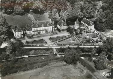 """/ CPSM FRANCE 45 """"Saint Hilaire les Andresis, vue aérienne, château du Ratelet"""""""