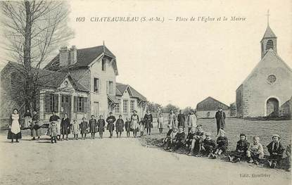 "CPA FRANCE 77 ""Chateaubleau"""