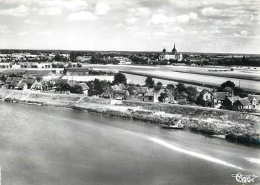 """/ CPSM FRANCE 45 """"Saint Benoit sur Loire, vue panoramique"""""""
