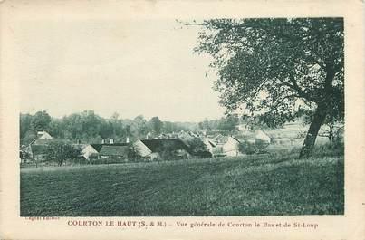 """CPA FRANCE 77 """"Courton le Haut, vue générale"""""""