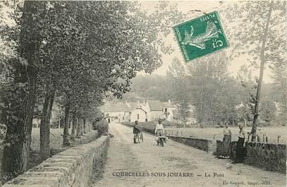 """CPA FRANCE 77 """"Courcelles sous Jouarre, le pont"""""""