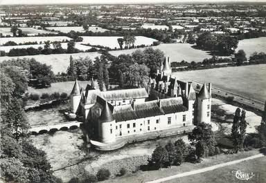 """/ CPSM FRANCE 49 """"Ecuillé, château de Plessis Bourré, vue aérienne"""""""