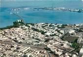 """Afrique CPSM DJIBOUTI """"vue aérienne du centre commercial"""""""