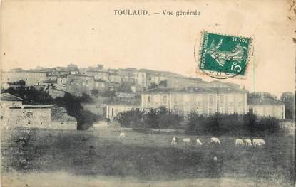 """CPA FRANCE 07 """"Toulaud, vue générale"""""""