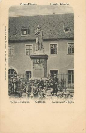 """/ CPA FRANCE 68 """"Colmar, monument Pfeffel """""""