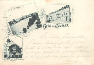 """/ CPA FRANCE 68 """"Un  bonjour de Colmar"""""""