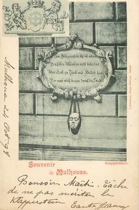 """/ CPA FRANCE 68 """"Souvenir de Mulhouse """""""