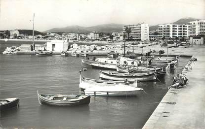 "/ CPSM FRANCE 06 ""Cros de Cagnes, le port de pêche et la promenade"""