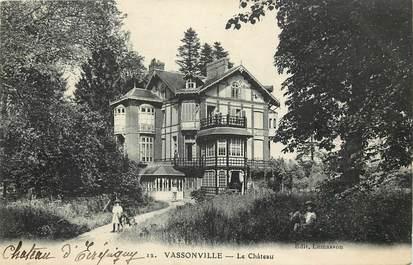 """CPA FRANCE 76 """"Vassonville"""""""