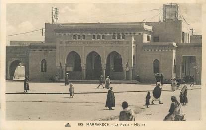 """CPA MAROC """"Marrakech, la poste"""""""