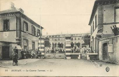 "/ CPA FRANCE 27 ""Bernay, la caserne Turreau"""