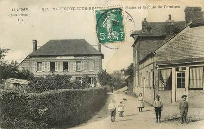 "CPA FRANCE 76 ""Vattetot sous Beaumont"""