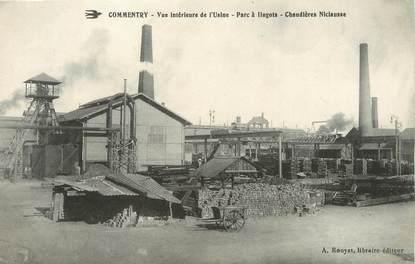 """/ CPA FRANCE 03 """"Commentry, vue intérieure de l'usine"""" / MINE"""