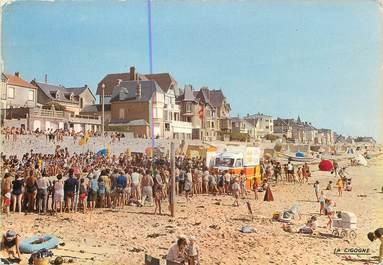 """/ CPSM FRANCE 50 """" Coutainville, la plage """""""