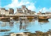 """50 Manche / CPSM FRANCE 50 """"Barfleur, le port à marée basse"""""""