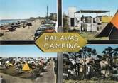 "34 Herault / CPSM FRANCE 34 ""Palavas Camping"""