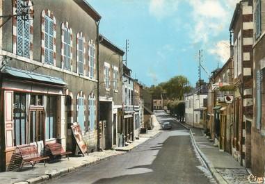"""/ CPSM FRANCE 45 """"Ouzouer sur Trézee, la grande rue"""""""