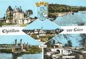 """45 Loiret / CPSM FRANCE 45 """"Chatillon sur Loire """""""