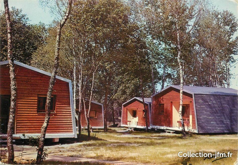cpsm france 45 chilleurs aux bois neuville aux bois les bungalows 45 loiret autres. Black Bedroom Furniture Sets. Home Design Ideas